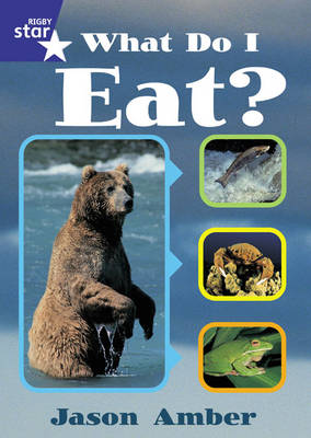 Rigby Star Shared Year 1 Non-Fiction: What Do I Eat? Teachers Guide - RED GIANT (Paperback)