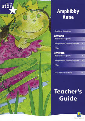 Rigby Star Shared Year 2 Fiction: Amphibby Anne Teachers Guide - RED GIANT (Paperback)