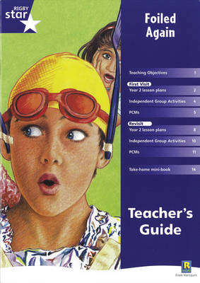 Rigby Star Shared Year 2 Fiction: Foiled Again Teachers Guide - RED GIANT (Paperback)