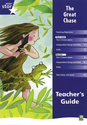 Rigby Star Shared Year 2 Fiction: The Great Chase Teachers Guide - RED GIANT (Paperback)