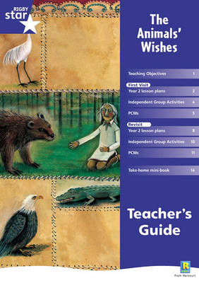 Rigby Star Shared Year 2 Fiction: The Animals' Wishes Teachers Guide - RED GIANT (Paperback)