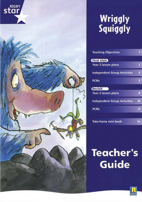 Rigby Star Shared Year 2 Fiction: Wriggly Squiggly Teachers Guide - RED GIANT (Paperback)
