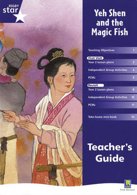 Rigby Star Shared Year 2 Fiction: Yeh Shen and the Magic Fish Teachers Guide - RED GIANT (Paperback)