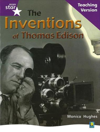Rig Star Non-fiction Gui Reading Purple Level: The Inventions of Thomas Edison Teaching Ve - STARQUEST (Paperback)