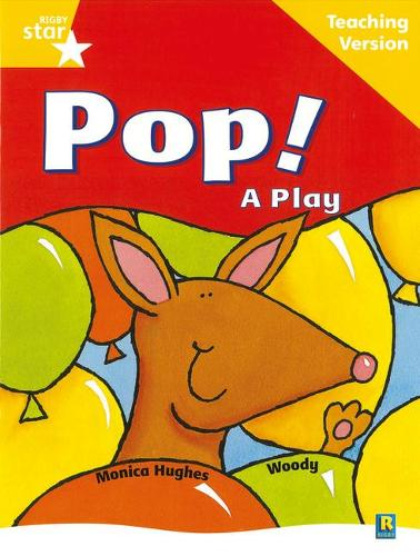 Rigby Star Guided Reading Yellow Level: Pop! A Play Teaching Version - STARQUEST (Paperback)