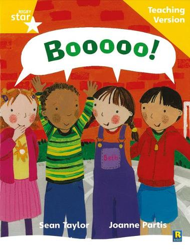 Rigby Star Phonic Guided Reading Yellow Level: Boooo! Teaching Version - Star Phonics Opportunity Readers (Paperback)