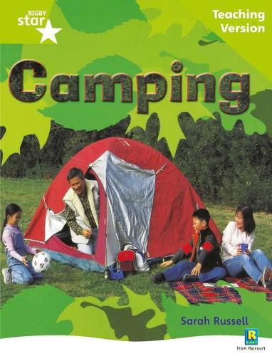 Rigby Star Non-fiction Guided Reading Green Level: Camping Teaching Version - STARQUEST (Paperback)