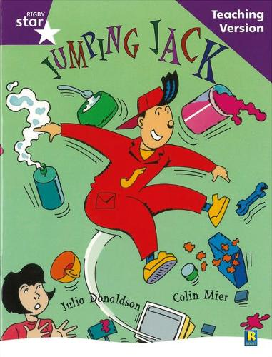 Rigby Star Guided Reading Purple Level: Jumoing Jack Teaching Version - RIGBY STAR (Paperback)