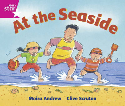 Rigby Star Guided: Reception/P1 Pink Level: At the Seaside Pack of 6 Framework Edition - RIGBY STAR (Paperback)