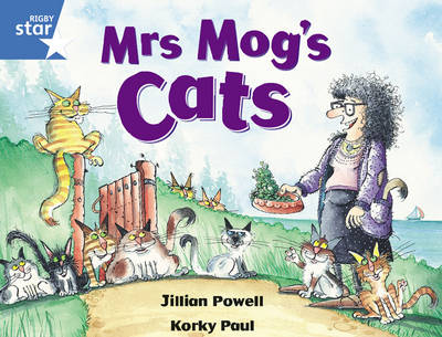 Rigby Star Guided Y1/P2 Blue Level: Mrs Mog's Cat (6 Pack) Framework Edition - RIGBY STAR (Paperback)