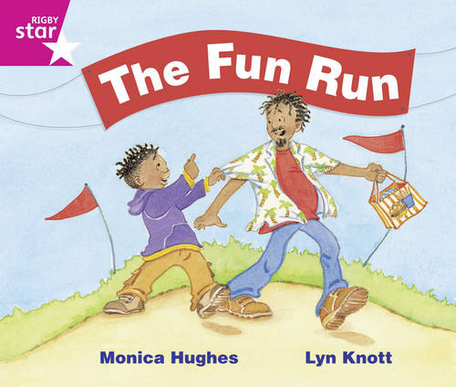 Rigby Star Guided Phonics Opportunity Readers Pink: The Fun Run (6 Pack) Framework Edition - Star Phonics Opportunity Readers (Paperback)