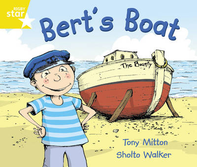 Rigby Star Guided Year 1/P2 Yellow: Bert's Boat (6 Pack) Framework Edition - Star Phonics Opportunity Readers (Paperback)