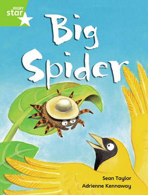 Rigby Star Guided Phonic Opportunity Readers Green: Big Spider (6 Pack) Framework Edition - Star Phonics Opportunity Readers (Paperback)