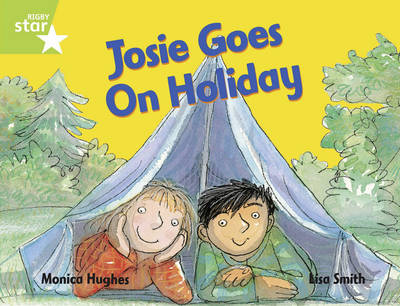 Rigby Star Guided 1/P2 Green Level: Josie Goes on Holiday (6 Pack) Framework Edition - RIGBY STAR (Paperback)