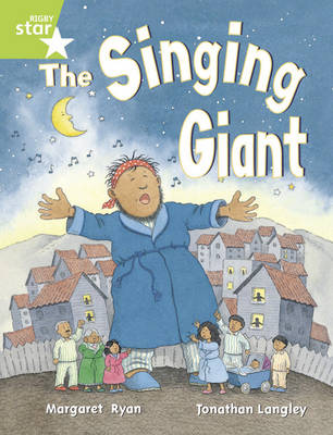 Rigby Star Guided 1/P2 Green Level: The Singing Giant - Story (6 Pack) Framework Edition - RIGBY STAR (Paperback)