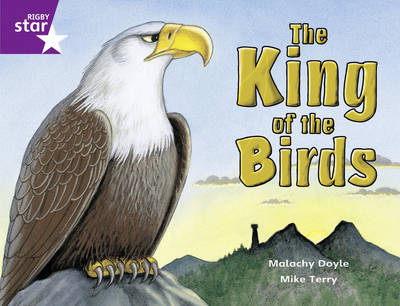 Rigby Star Gui Year 2/P3 Purple Level: The King of the Birds (6 Pack) Framework Edition - RIGBY STAR (Paperback)