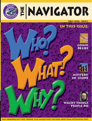 Navigator Non-Fiction Yr 4/P5: Who Why What Book - NAVIGATOR FICTION (Paperback)