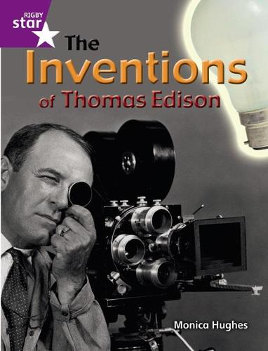 Rigby Star Guided Quest Purple: The Inventions Of Thomas Edison Pupil Book (Single) - STARQUEST (Paperback)