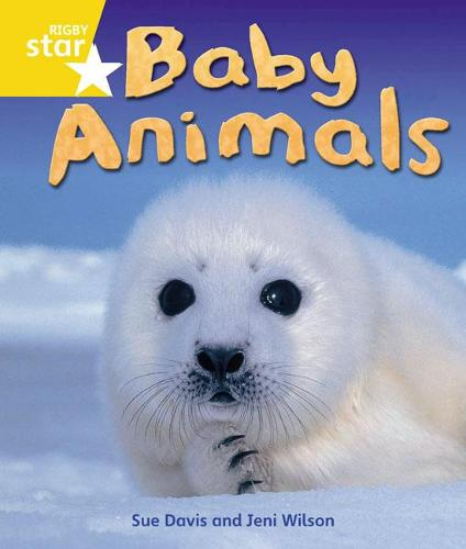 Rigby Star Guided Quest Year 1 Yellow Level: Baby Animals Reader Single - STARQUEST (Paperback)
