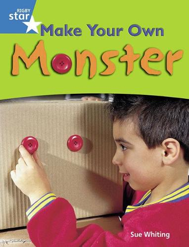 Rigby Star Guided Blue: Pupil Book Single: Make Your Own Monster! - STARQUEST (Paperback)
