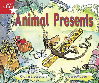 Rigby Star Guided Reception/P1 Red Level: Animal Presents (6 Pack) Framework Edition - RIGBY STAR (Paperback)
