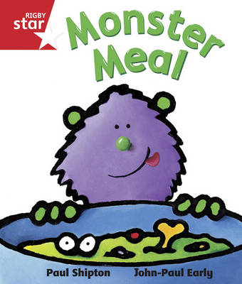 Rigby Star Guided Reception/P1 Red Level: Monster Meal (6 Pack) Framework Edition - RIGBY STAR (Paperback)