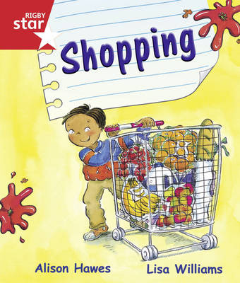 Rigby Star Guided Reception/P1 Red Level: Shopping (6 Pack) Framework Edition - RIGBY STAR (Paperback)