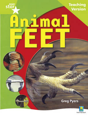 Rigby Star Guided : Yr 1 Green Level: Animal Feet Guided Reading Pack Framework Edition - STARQUEST (Paperback)