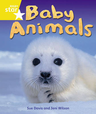 Rigby Star Guided Quest Year 1/P2 Yellow Level: Baby Animals 6 Pack Framework Edition - STARQUEST (Paperback)