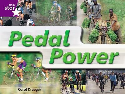 Rigby Star Guided Year 2: Purple Level: Pedal Power Gui Reading Pk Framework Edition - STARQUEST (Paperback)