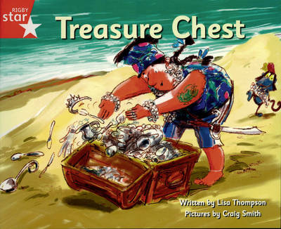 Pirate Cove Red Level Fiction: The Treasure Chest - STAR ADVENTURES (Paperback)