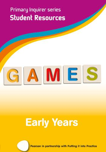 Primary Inquirer series: Games Early Years Student CD: Pearson in partnership with Putting it into Practice - Primary Inquirer (CD-ROM)