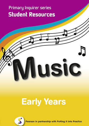 Primary Inquirer series: Music Early Years Student CD: Pearson in partnership with Putting it into Practice - Primary Inquirer (CD-ROM)