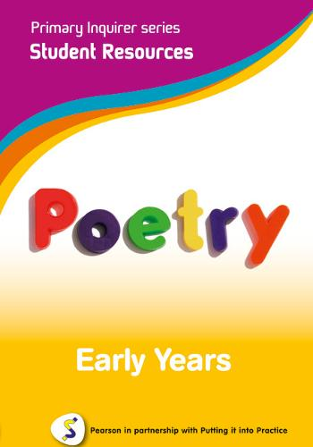 Primary Inquirer series: Poetry Early Years Student CD: Pearson in partnership with Putting it into Practice - Primary Inquirer (CD-ROM)