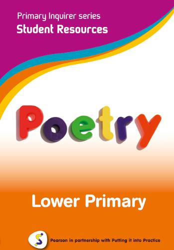 Primary Inquirer series: Poetry Lower Primary Student CD: Pearson in partnership with Putting it into Practice - Primary Inquirer (CD-ROM)