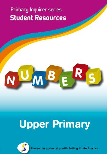Primary Inquirer series: Numbers Upper Primary Student CD: Pearson in partnership with Putting it into Practice - Primary Inquirer (CD-ROM)