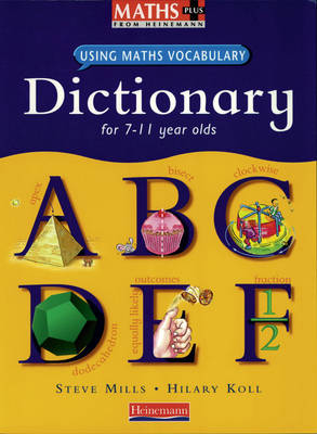 Maths Plus Using Maths Vocabulary: KS2 Maths Dictionary (6 pack) - MATHS PLUS LANGUAGE