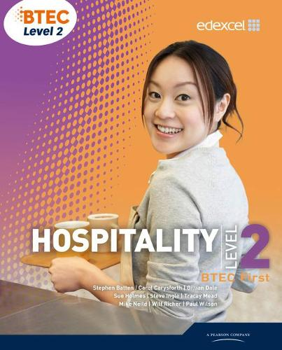 BTEC Level 2 First Hospitality Student Book (Paperback)