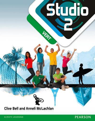 Studio 2 vert Pupil Book (11-14 French) - Studio (Paperback)