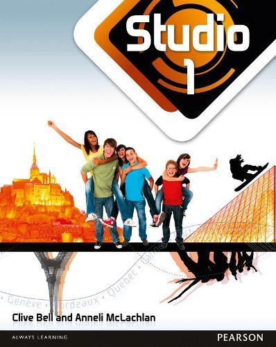 Studio 1 Pupil Book 11 14 French By Anneli Mclachlan Clive Bell Waterstones