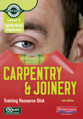 Level 2 NVQ/SVQ Diploma Carpentry and Joinery Training Resource Disk 3rd Edition - NVQ Carpentry & Joinery (CD-ROM)