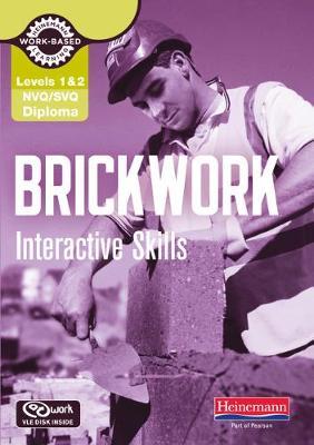Brickwork Interactive Skills: NVQ/SVQ Diploma Level 1/2 - NVQ Brickwork (CD-ROM)