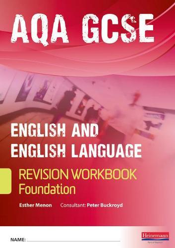 Revise GCSE AQA English/Language Workbook - Foundation - AQA GCSE English, Language, & Literature (Paperback)
