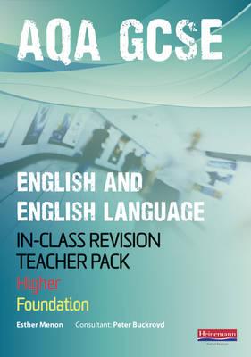 AQA GCSE English In-Class Revision Teacher Pack - AQA GCSE English, Language, & Literature