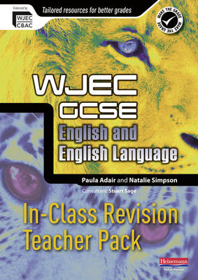 WJEC GCSE English In-Class Revision Teacher Pack - WJEC GCSE English 2010