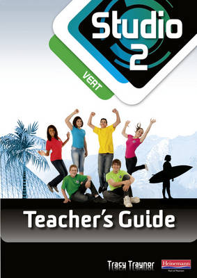 Studio 2 Vert Teacher's Guide & CD-ROM (11-14 French) - Studio 11-14 French
