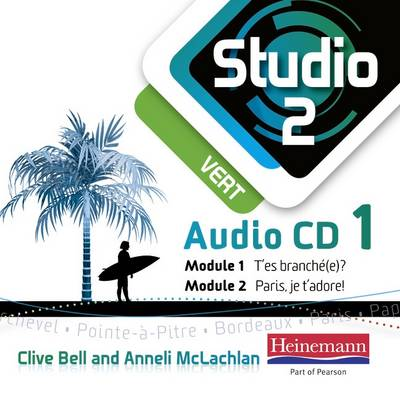 Studio 2 Vert Audio CDs (Pack of 3) (11-14 French) - Studio 11-14 French (CD-Audio)