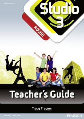 Studio 3 rouge Teacher's Guide & CD-Rom (11-14 French) - Studio