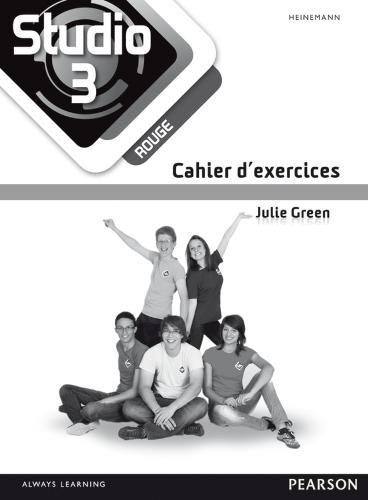 Studio 3 rouge Workbook (pack of 8) (11-14 French) - Studio