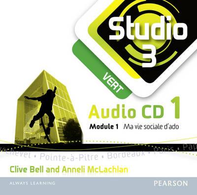 Studio 3 Vert Audio CD A (11-14 French) - Studio 11-14 French (CD-Audio)
